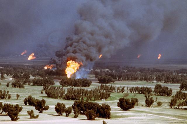 The second Gulf War, Kuweit, 1991