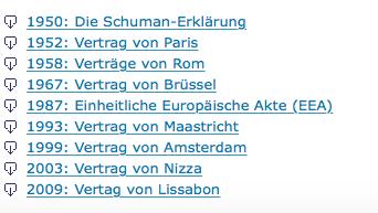 EU treaties